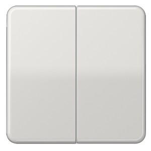 Клавиша 2-ая для двухклавишного выключателя/кнопки Jung CD Светло-серый