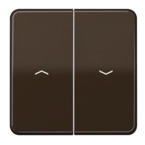 Клавиша 2-ая для жалюзийного выключателя/кнопок Jung CD Коричневый