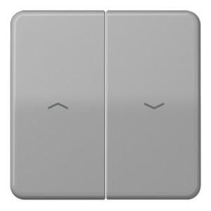 Клавиша 2-ая для жалюзийного выключателя/кнопок Jung CD Серый