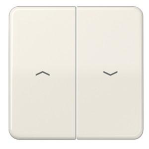 Клавиша 2-ая для жалюзийного выключателя/кнопок Jung CD Слоновая кость