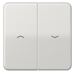 Клавиша 2-ая для жалюзийного выключателя/кнопок Jung CD Светло-серый