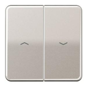Клавиша 2-ая для жалюзийного выключателя/кнопок Jung CD Платина