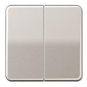 Клавиша 2-ая для двухклавишного выключателя/кнопки Jung CD Платина