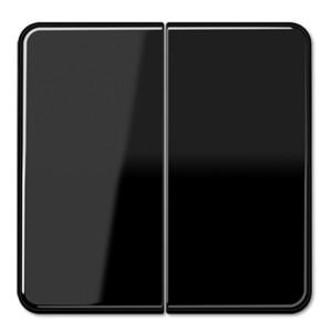 Клавиша 2-ая для двухклавишного выключателя/кнопки Jung CD Черный