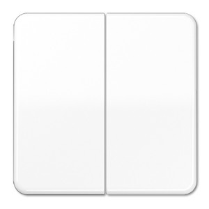 Клавиша 2-ая для двухклавишного выключателя/кнопки Jung CD Белый