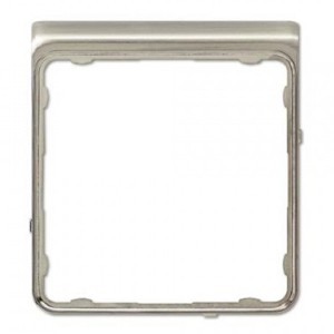 Внешняя цветная рамка Jung CD Plus Нержавеющая сталь