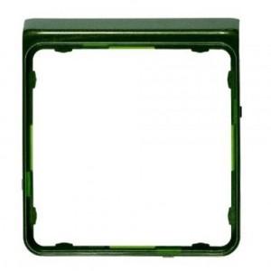 Внешняя цветная рамка Jung CD Plus Зеленый металлик