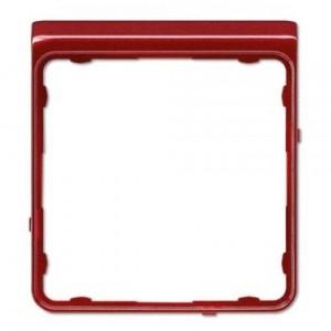 Внешняя цветная рамка Jung CD Plus Красный металлик