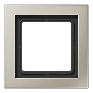 Рамка 1-ая Jung LS-design Нержавеющая сталь