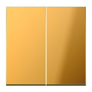 Клавиша 2-ая для двухклавишного выключателя или кнопки Jung LS Имитация золота