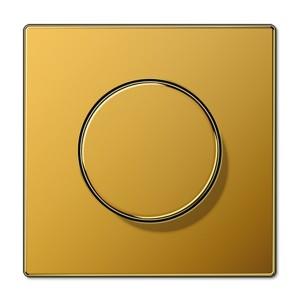 Накладка для поворотного диммера Jung LS Золото