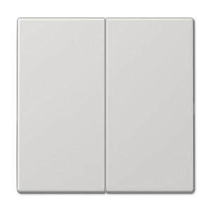 Клавиша 2-ая для двухклавишного выключателя или кнопки Jung LS Светло-серый