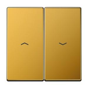 Клавиша 2-ая для жалюзийного выключателя/кнопок Jung LS Золото