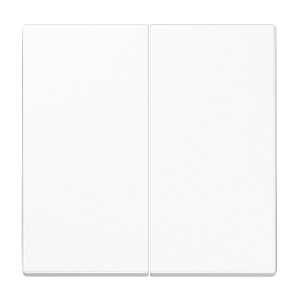 Клавиша 2-ая для двухклавишного выключателя или кнопки Jung LS Белый