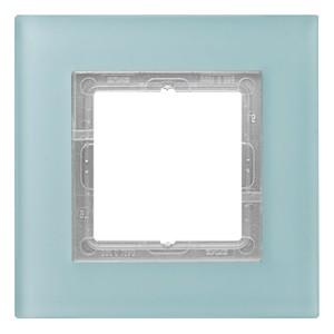 Рамка 1-ая Jung LS-Plus Стекло матовое