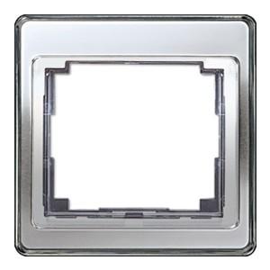 Рамка для вертикальной и горизонтальной установки 1-ая Jung SL500 Серебро