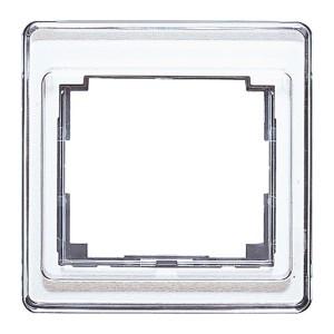 Рамка для вертикальной и горизонтальной установки 1-ая Jung SL500 Белый