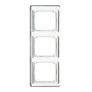 Рамка для вертикальной установки 3-ая Jung SL500 Белый