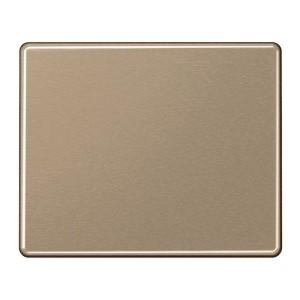 Клавиша 1-ая для одноклавишного выключателя или кнопки Jung SL500 Золотая бронза