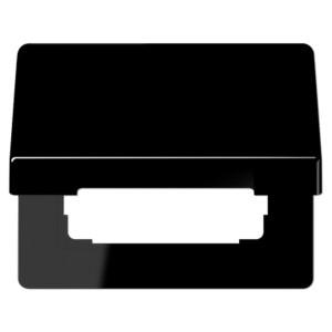 Крышка откидная для розеток с/з Jung SL500 Черный