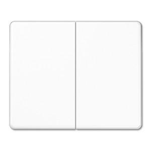 Клавиша 2-ая для двухклавишного выключателя или кнопки Jung SL500 Белый