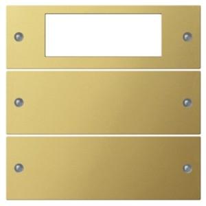 Комплект клавиш Plus, 2 шт. Gira KNX/EIB System 55 Латунь