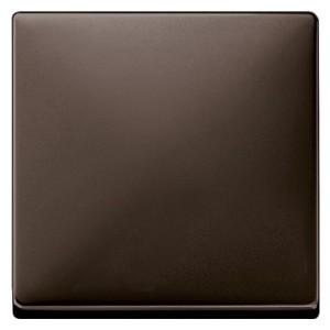 Клавиша 1-ая для клав/кноп. выключателей System Design Merten коричневый