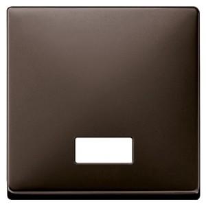 Клавиша 1-ая с подсветкой для клав/кноп. выключателей System Design Merten коричневый