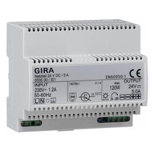 Источник питания 24 В пост. тока/ 5А Gira KNX/EIB Reg-типа