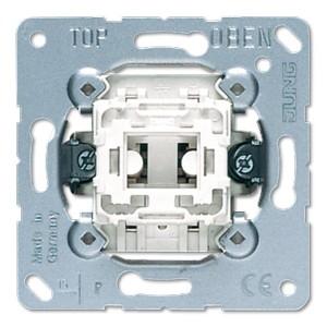 Выключатель 1-клавишный 10а Jung механизм