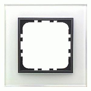 Рамка 1-постовая Экопласт LK60 из натурального светлого стекла LK60