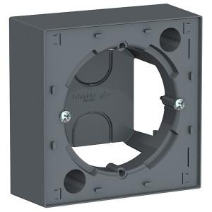Коробка 1 пост для накладного монтажа SE AtlasDesign, грифель