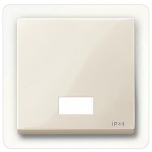 Клавиша 1-ая для выключателей с световой индикацией IP44 System M Merten бежевый