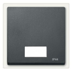 Клавиша 1-ая для выключателей с световой индикацией IP44 System M Merten антрацит