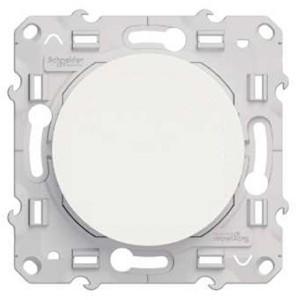 Выключатель одноклавишный IP44 Odace , белый