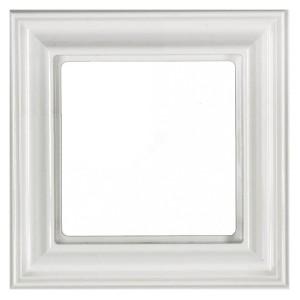 Рамка 1-ая для вертикальной и горизонтальной установки Jung ECO Profi Deco Белый