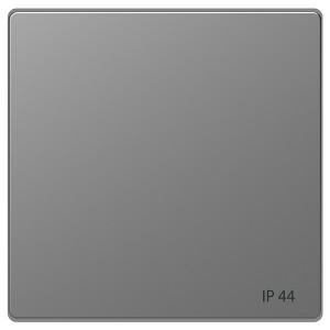 Клавиша 1-ная IP 44 Merten D-Life, нержавеющая сталь
