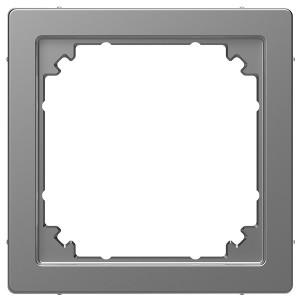 Адаптер для интеграции System M к D-Life Merten D-Life, нержавеющая сталь