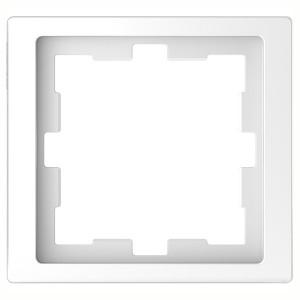 Рамка 1-ая Merten D-Life, белый лотос