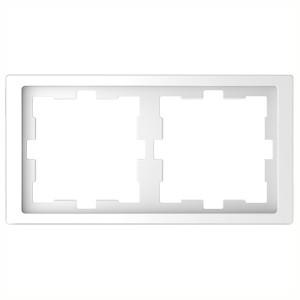 Рамка 2-ая Merten D-Life, белый лотос