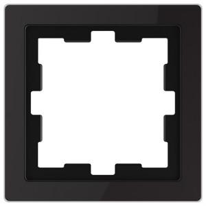 Рамка 1-ая Merten D-Life, черный оникс