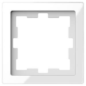 Рамка 1-ая Merten D-Life, белый кристал