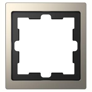 Рамка 1-ая Merten D-Life, никель