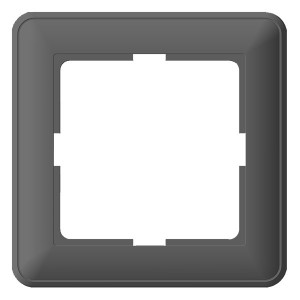 Рамка 1 пост SE W59, матовый хром