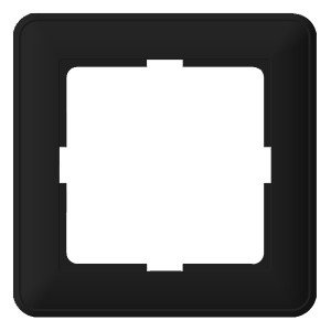 Рамка 1 пост SE W59, черный бархат