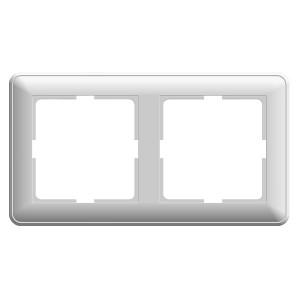 Рамка 2 поста SE W59, белый