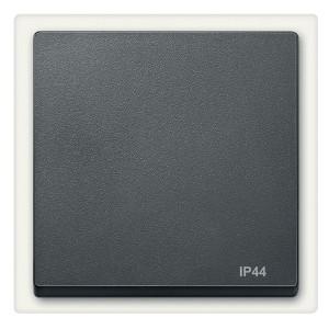 Клавиша 1-ая IP44 для выключателей и кнопок System M Merten антрацит