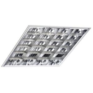 Встраиваемый светильник TLC414 4х14 Вт ЭПРА, 595х595, зеркальный классический растровый