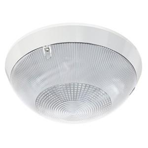 Накладной светильник TLK213 CL EL 2x13 G24q-1 IP65 D281хH113мм Прозрачный рифленый
