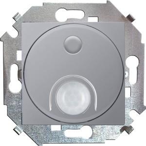 Выключатель с датчиком движения 500 Вт 230В Simon 15, алюминий